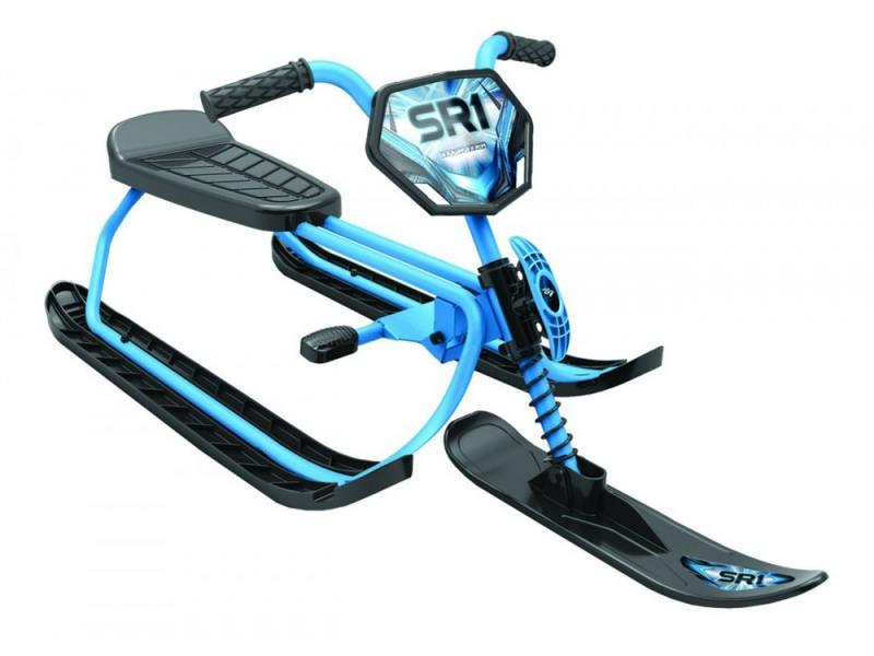 Снегокаты Snow Moto SnowRunner SR1 Sky до 60 кг металл голубой снегокат snow moto runner sr1 light blue ssc 12008