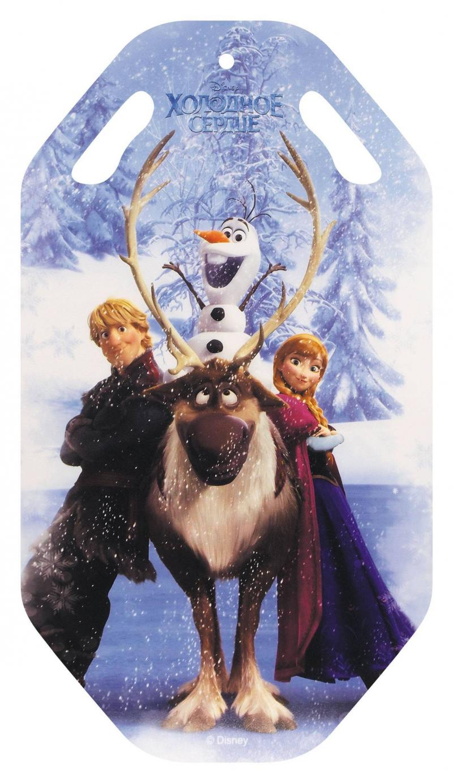 Ледянка 1Toy Disney: Холодное сердце до 100 кг пластик рисунок Т57257 ледянка disney фея до 60 кг пвх ткань рисунок т58165