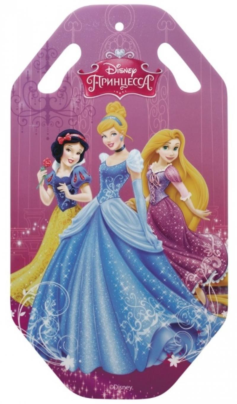 Ледянка 1Toy Disney Принцессы до 90 кг Пластик металл разноцветный Т58167 ледянка disney фея до 60 кг пвх ткань рисунок т58165