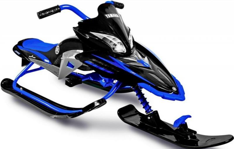 Снегокаты Snow Moto YAMAHA Apex SNOW BIKE Titanium black/blue YM13001