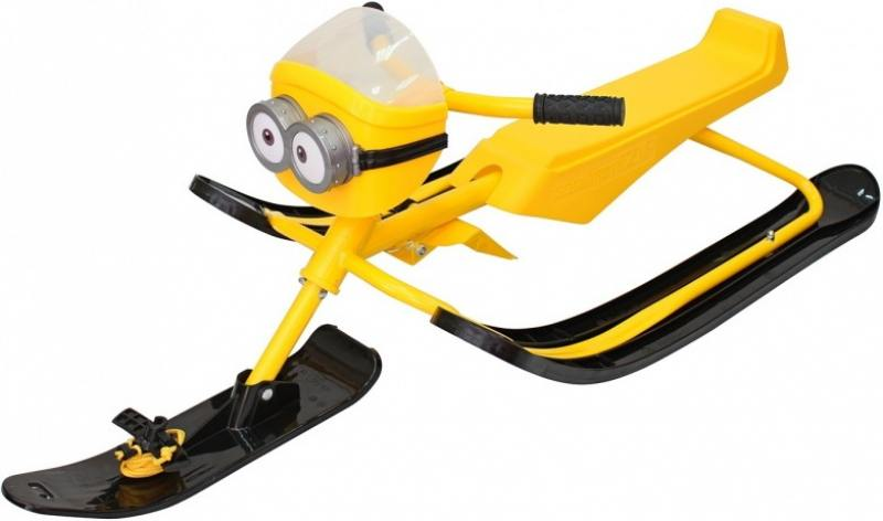 Снегокаты Snow Moto MINION Despicable ME yellow 37018 reptilian moto