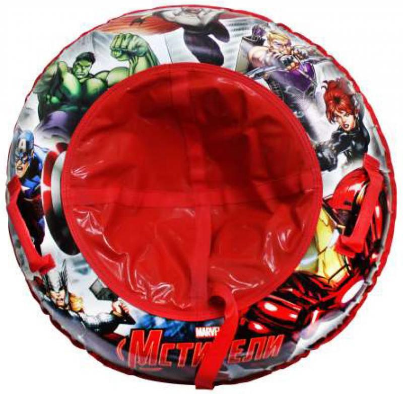Тюбинг MARVEL Мстители резин.автокамера, материал глянцевый пвх 500 гр/кв.м.,85см,букс.трос,цветн.ко наклейки disney мстители 100 шт