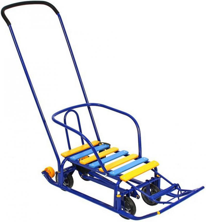 Снегомобиль Kelkka Buran до 50 кг сталь пластик синий 6200
