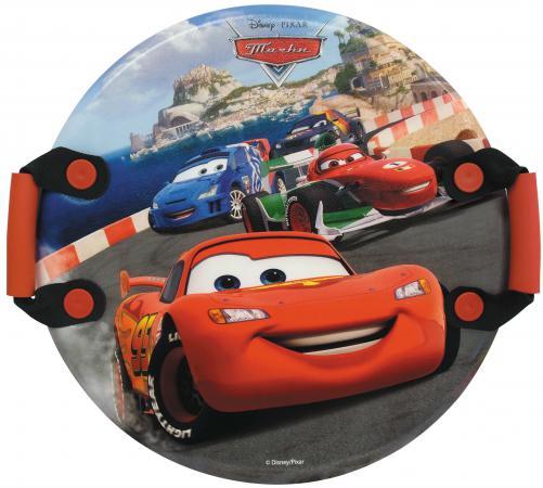 Ледянка 1Toy Disney: Тачки до 150 кг пластик рисунок Т57208 круглая ледянка disney фея до 60 кг пвх ткань рисунок т58165