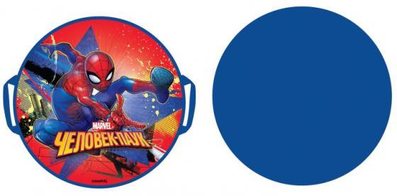 Ледянка 1Toy Marvel Spider-Man 52 см, круглая ледянка 1toy marvel spider man 54см кругл с плотн ручками универсальная