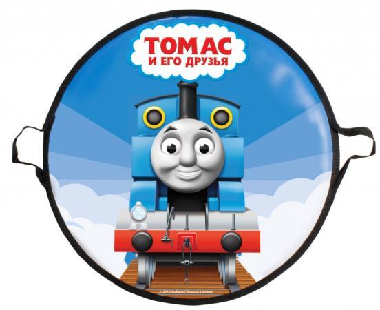 Ледянка 1Toy Томас и его друзья, ледянка, 52 см, круглая ледянка мягкая круглая combosport d 40 см плюшка красный желтый