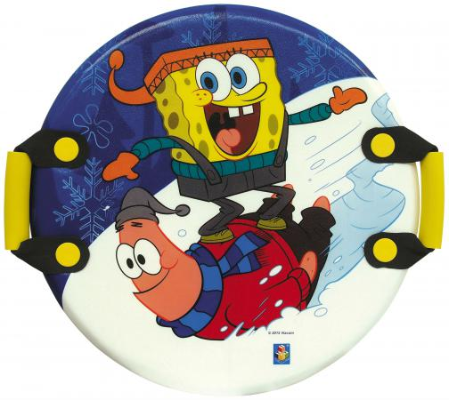 Ледянка 1Toy Губка Боб пластик рисунок Т57201 круглая