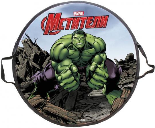 Ледянка 1toy Marvel: Hulk до 100 кг пластик рисунок Т58170 круглая s s ледянка marvel hulk