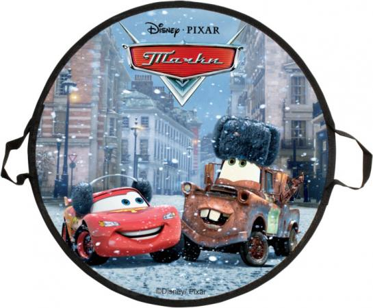 Ледянка 1Toy Disney Тачки, ледянка 52 см, круглая ледянки disney ледянка disney принцессы круглая 52 см
