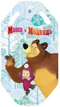 Ледянка 1Toy Маша и Медведь ПВХ рисунок ледянка 1toy маша и медведь маша и медведь