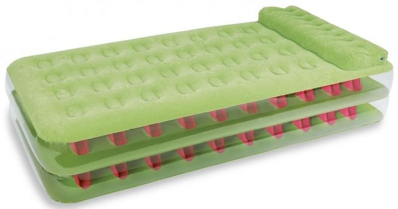 Надувной матрас-кровать INTEX 99х191х47см эл/насос 220в 2шт надувной матрас кровать intex comfort plush high 152х203х56 см 64418