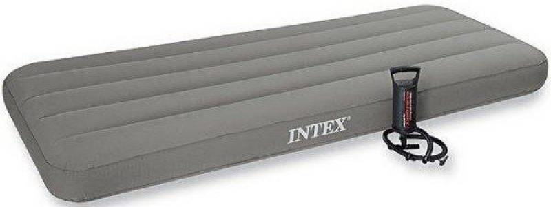 Надувной матрас-кровать INTEX с руч.насосом надувной матрас кровать intex comfort plush high 152х203х56 см 64418