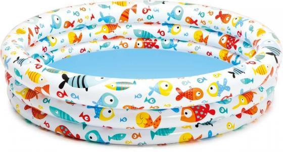 Надувной бассейн Intex подвод.мир 132х28см от 3лет черепаха intex надувная 191 170см от 3лет