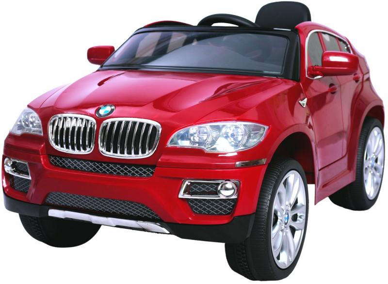 Электромобиль RT на 4-х колесах BMW X6 12V R/C red metallic 258