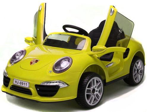 Электромобиль Porsche 911 ЖёлтыйТ58722 porsche 911 1974 ujlf украина