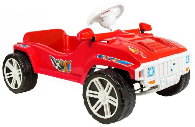 Машина педальная RT RACE MAXI Formula 1 цв. красный ОР792