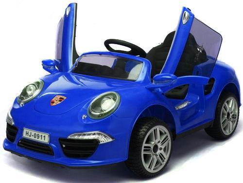 Электромобиль Porsche 911; 1TOY Синий Т58723 porsche 911 1974 ujlf украина