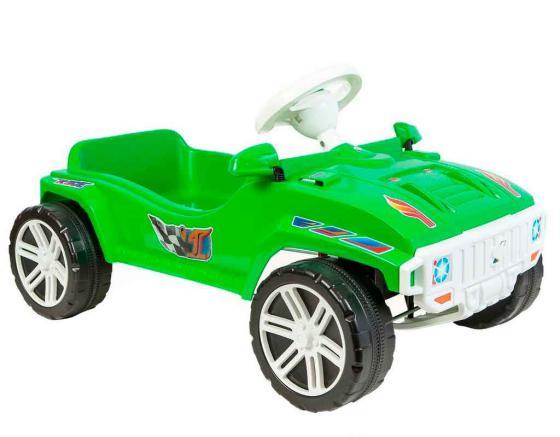 Машина Rich Toys с педальным приводом RACE MAXI Formula 1 цв.зеленый ОР792 rich toys клаксон кобра св 3039