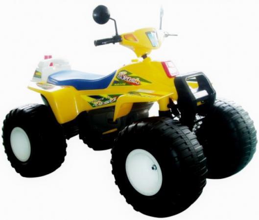 Квадроцикл желтый 122см Биг Рейсер12В Пламенный мотор CT-650 YL0A