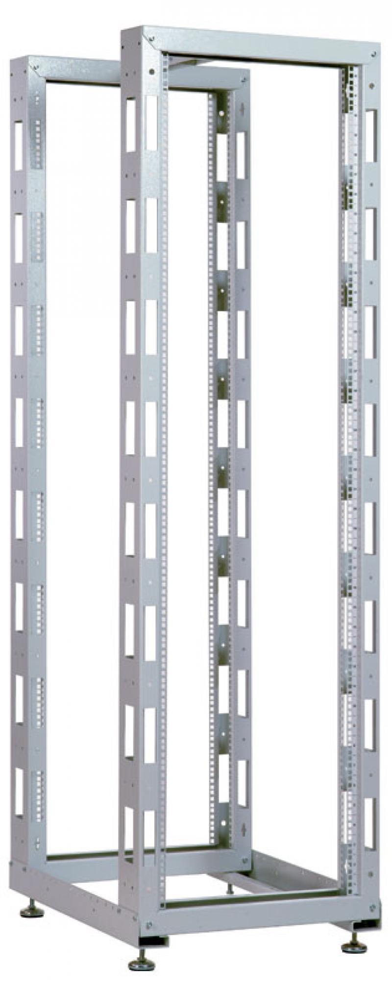 Стойка телекоммуникационная универсальная двухрамная 42U ЦМО СТК-42.2