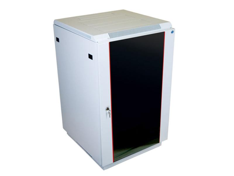 Шкаф напольный 22U ЦМО ШТК-М-22.6.8-1ААА 600x800mm дверь стекло