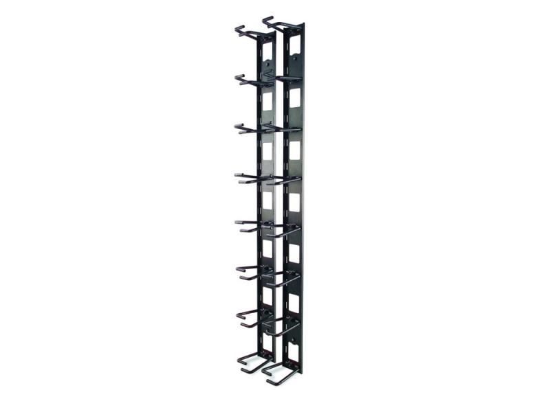 Органайзер APC Vertical Cable Organizer for NetShelter VX Channel черный AR8442 арматура крепежная apc horizontal cable manager