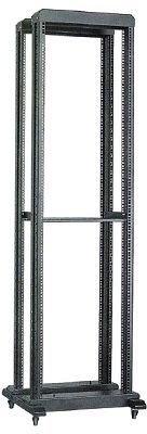 Двухрамная стойка 45U ITK LF05-45U68-2R 600х800mm глубина рег-ся с шагом 100мм черный