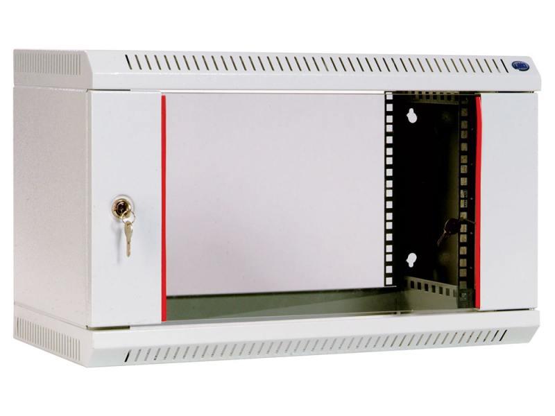 все цены на Шкаф настенный 6U ЦМО ШРН-6.300 600х300mm дверь стекло онлайн