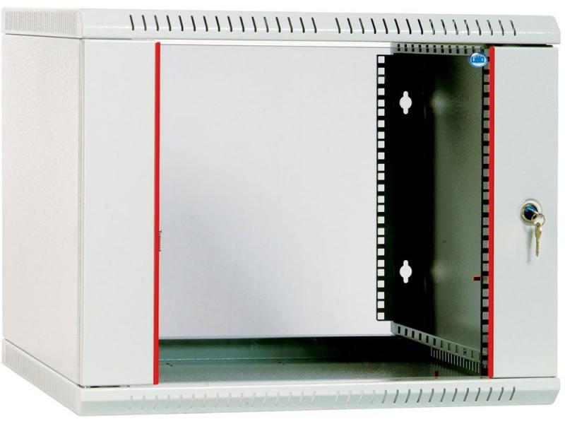 Шкаф настенный ЦМО разборный (ШРН-Э-9.350) 9U, 600x350мм, дверь стекло