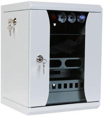 Шкаф телекоммуникационный настенный 9U ЦМО ШРН-8.255-10 350x255mm