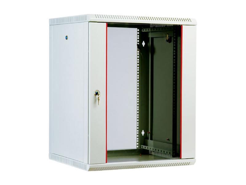 Шкаф настенный разборный 12U ЦМО ШРН-М-12.500 600x520mm дверь стекло