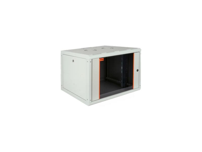 Шкаф настенный 19 9U Estap ProLine PRL9U56GF1 600x560mm серый