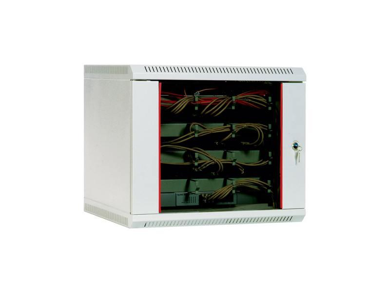 Шкаф настенный 15U ЦМО ШРН-15.480 600x480 дверь стекло шкаф tlk настенный 19 15u дверь стекло 530х732х600мм цельносварной серый