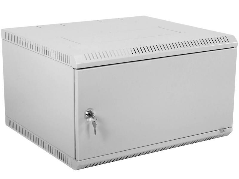 Шкаф настенный разборный 19 9U ЦМО ШРН-Э-.650. 600x650mm дверь металл