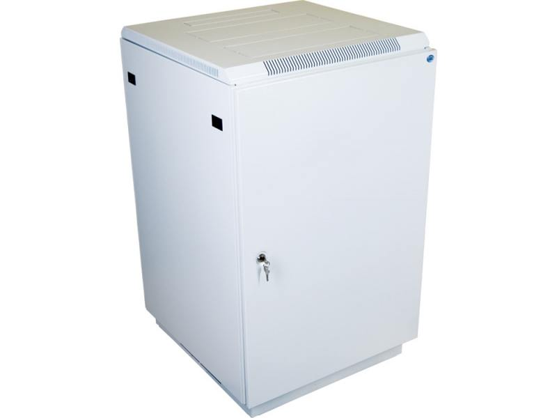 Шкаф напольный 18U ЦМО ШТК-М-18.6.6-3ААА 600х600mm дверь металл