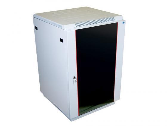Шкаф напольный 18U ЦМО ШТК-М-18.6.6-1ААА/ШТК-М-1В-27.6.6 600х600mm дверь стекло в двух коробках