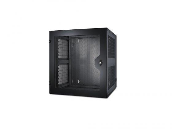 Шкаф APC NetShelter 13U 584ммx6220мм Wall Mount Enclosure with Glass door черный AR100