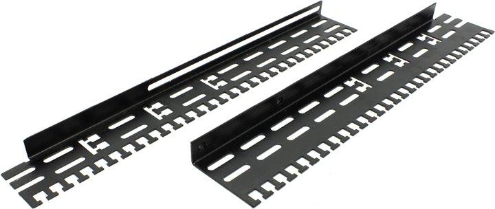 Кабельный органайзер, универсальный, чёрный, для глубины 1000 мм, NT CO-D10 VA B