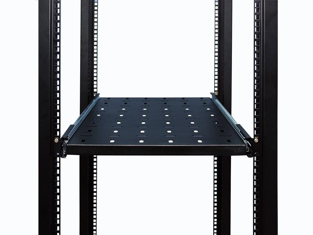 Полка 19 выдвижная с направляющими, чёрная L=750 мм, перфорированная, NT SSl750 B телескоп bresser брессер messier nt 150s 750 exos 1