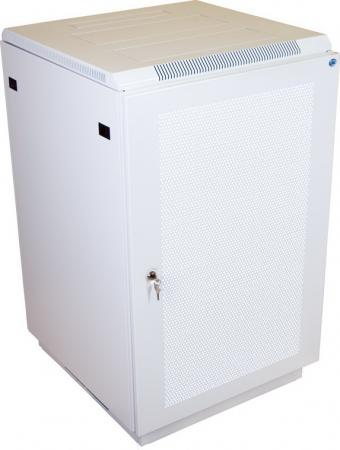 Шкаф напольный 27U ЦМО ШТК-М-27.6.8-44АА 600x800mm дверь перфорированная + ШТК-М-18-27.6.8 2 коробки шкаф цмо напольный разборный 19 27u 600x600мм дверь стекло