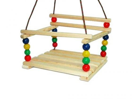Качели Деревянные игрушки Волна СУС1 музыкальные игрушки meinl маракасы деревянные nino7pd b