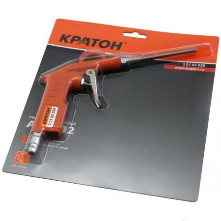 Пистолет продувочный КРАТОН ABG-02 длина сопла 100 мм электролобзик кратон jse 800 80