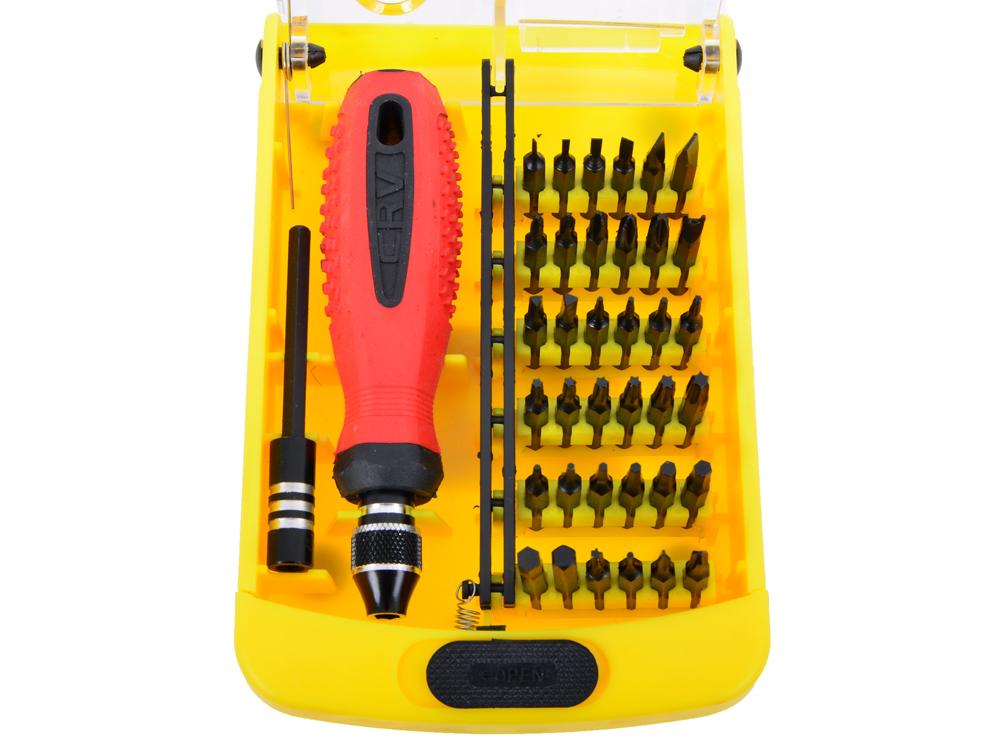 Отвертка с набором бит Cablexpert TK-SD-03 (35 предметов) набор инструмента cablexpert tk pro 01