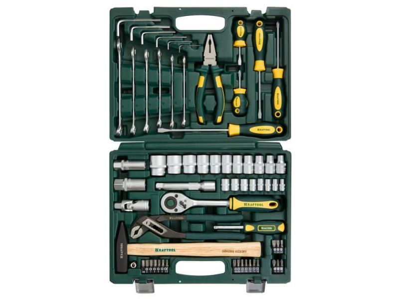 Набор инструментов Kraftool EXPERT 66шт 27976-H66 цена
