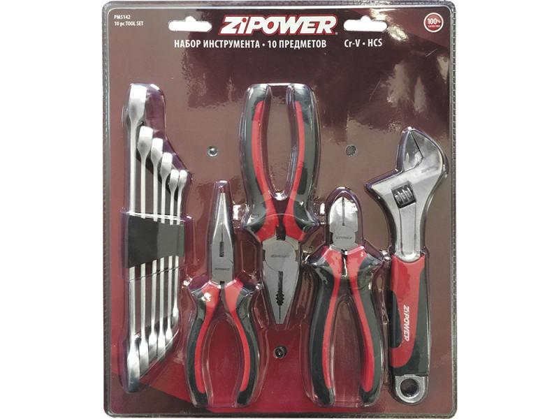 Набор инструмента ZIPOWER PM 5142 10шт набор инструмента hans 6617m