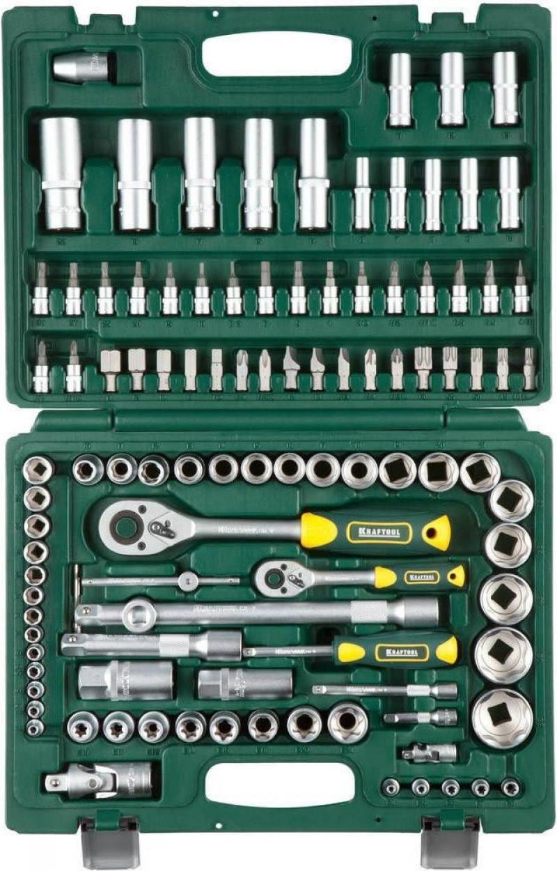 Набор торцовых головок Kraftool EXPERT QUALITAT 108шт 27888-H108_z02 переходник kraftool expert qualitat 06591