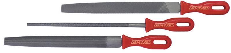 Набор напильников ZIPOWER PM 4268 3шт лопата zipower pm 4238