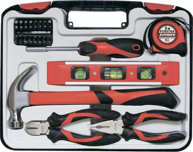 Набор инструментов ZIPOWER PM 5115 39шт набор инструментов zipower pm 5115 39шт