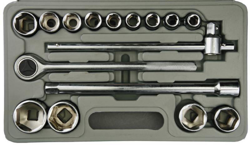 Фото - Набор инструментов Stayer Standard 16шт 27583-H16 оснастка riverlake h16 х3