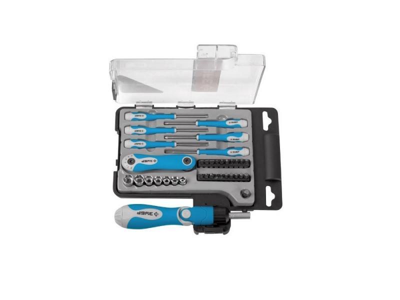 Набор инструментов Зубр ЭКСПЕРТ 41шт 25293-H41 набор инструментов пневматический шланг и 4 пистолета зубр эксперт